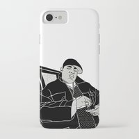 notorious big iPhone & iPod Cases featuring Notorious by madebytraceyleigh