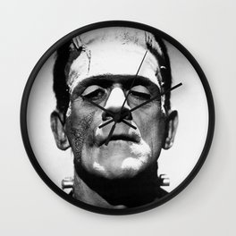 Frankenstein's Monster - Classic Horror Movies Wall Clock