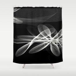 Tadasana Shower Curtain