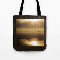 breathe Tote Bags featuring Breathe by DebS Digs Photo Art