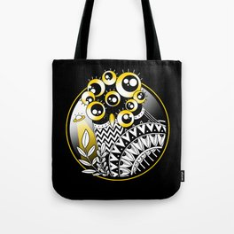 Extraterrestrial Owl Tote Bag