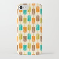 popsicle iPhone & iPod Cases featuring Popsicle by Liz Urso