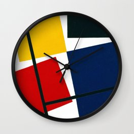 Simultaneous Counter Composition (High Resolution) Wall Clock