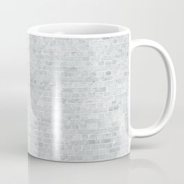 White Washed Brick Wall Stone Cladding Coffee Mug