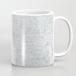 White Washed Brick Wall Stone Cladding Coffee Mug