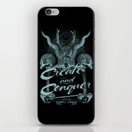 Create and Conquer iPhone Skin