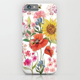 Tuscan Florals iPhone Case