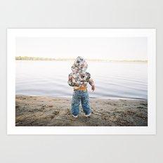 Lake Wonder Art Print