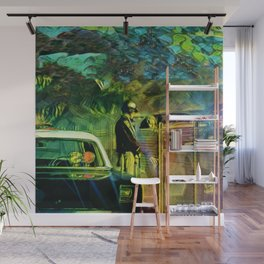 A Nightly Pull Over:The Casual Affair Wall Mural
