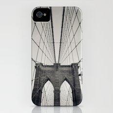 Brooklyn Bridge B/W   New York City Slim Case iPhone (4, 4s)