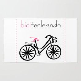 bicitecleando Rug