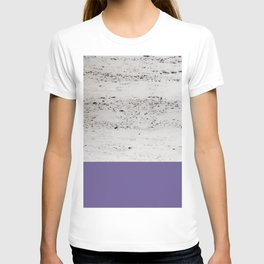 Ultra Violet on Concrete #3 #decor #art #society6 T-shirt