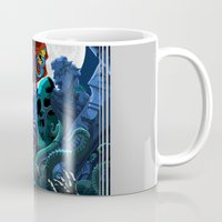 castlevania Mugs featuring What a horrible night to have a curse... by A_Cheff