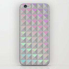 Silver Xs iPhone Skin