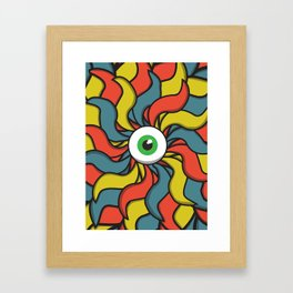 EYE TRIP Framed Art Print