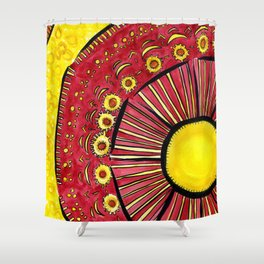 Sunflower Summer Shower Curtain