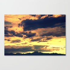 Summer Sunset II Canvas Print