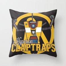 Hyperion Claptraps Throw Pillow