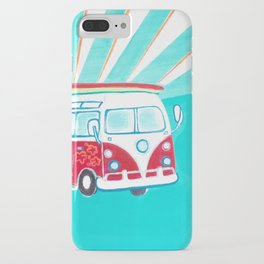 Surfer Sunrise iPhone Case