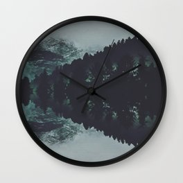 Abstracts in nature no.5 Wall Clock