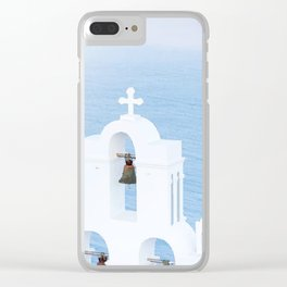 Greece Clear iPhone Case