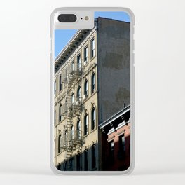 Sunset East Village Clear iPhone Case