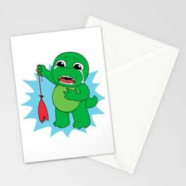 Little Dinosaur, Big Feelings (Pop) Stationery Cards