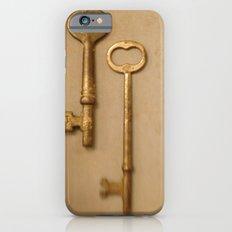Skeleton Keys Slim Case iPhone 6s