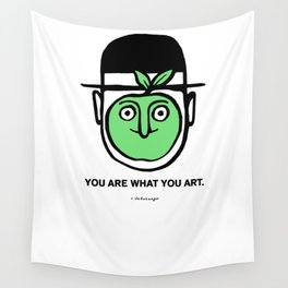 You Are What You Art Wall Tapestry