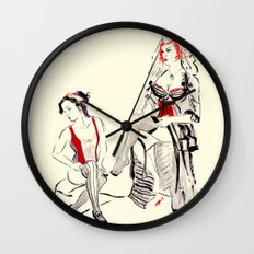 Cabaret Cafe Wall Clock