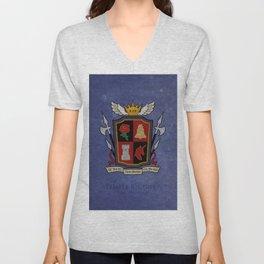 Ishgard Flag - Temple knights ( FFXIV) Unisex V-Neck