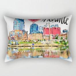 I love Nashville Rectangular Pillow