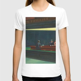 NIGHTHAWKS - EDWARD HOPPER T-shirt