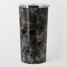 Old metal skull pile Travel Mug