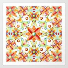 Suzani Textile Art Print