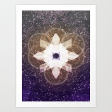Recovered Art Print