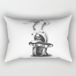 Aah! Rabbit Rectangular Pillow