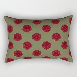 rose pattern Rectangular Pillow