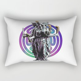 Hecate - Stained Glass Rectangular Pillow
