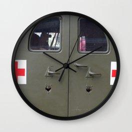 red cross Wall Clock