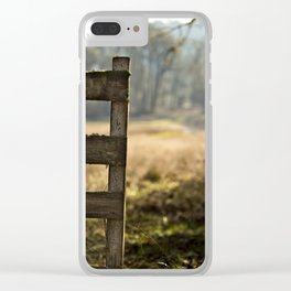 Useless Boundaries No. 1 Clear iPhone Case