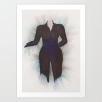 suit Art Prints featuring Suit by Tiffany Cooper