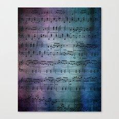 The Symphony Canvas Print