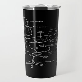 Eames Lounge Chair Diagram Travel Mug