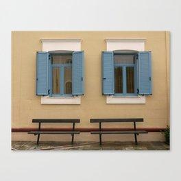 twin windows Canvas Print