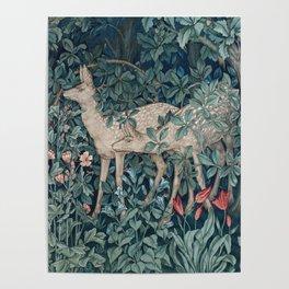 William Morris Forest Deer Poster