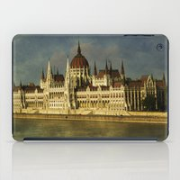 budapest iPad Cases featuring Parlament Budapest by eMBie