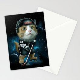 TEAM MEOW HOCKEY Stationery Cards