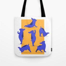 French Bulldog Yoga Tote Bag