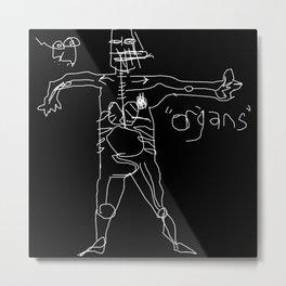 Organs Metal Print